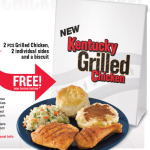 FREE KFC Grilled Chicken!!! (RAINCHECK info)
