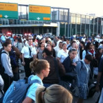 BOMB Scare at one of NYC's Airport