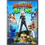 Monsters vs Aliens, Management on DVD Tuesday 9/29/09