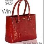 Win a Kate Spade Handbag!