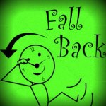 Fall Back – Change those clocks!