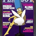 Marge Simpson Poses for Playboy!