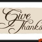 Give Thanks – Happy Thanksgiving Day