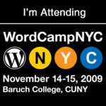 WordCamp NYC 2009 – 11/14-11/15