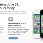 Pre Order iPhone 4 – TODAY