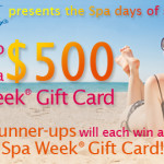 Spa Week – Win a $500 Gift Card