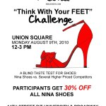 """Think With Your Feet"" Challenge – NYC Only"