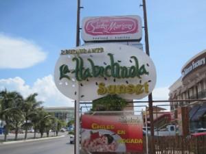 La Habichuela restaurant in Cancun