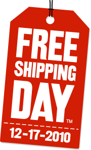 Free Shipping Day 12/17/10