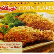 Double-Coated Baked Chicken with Kelloggs