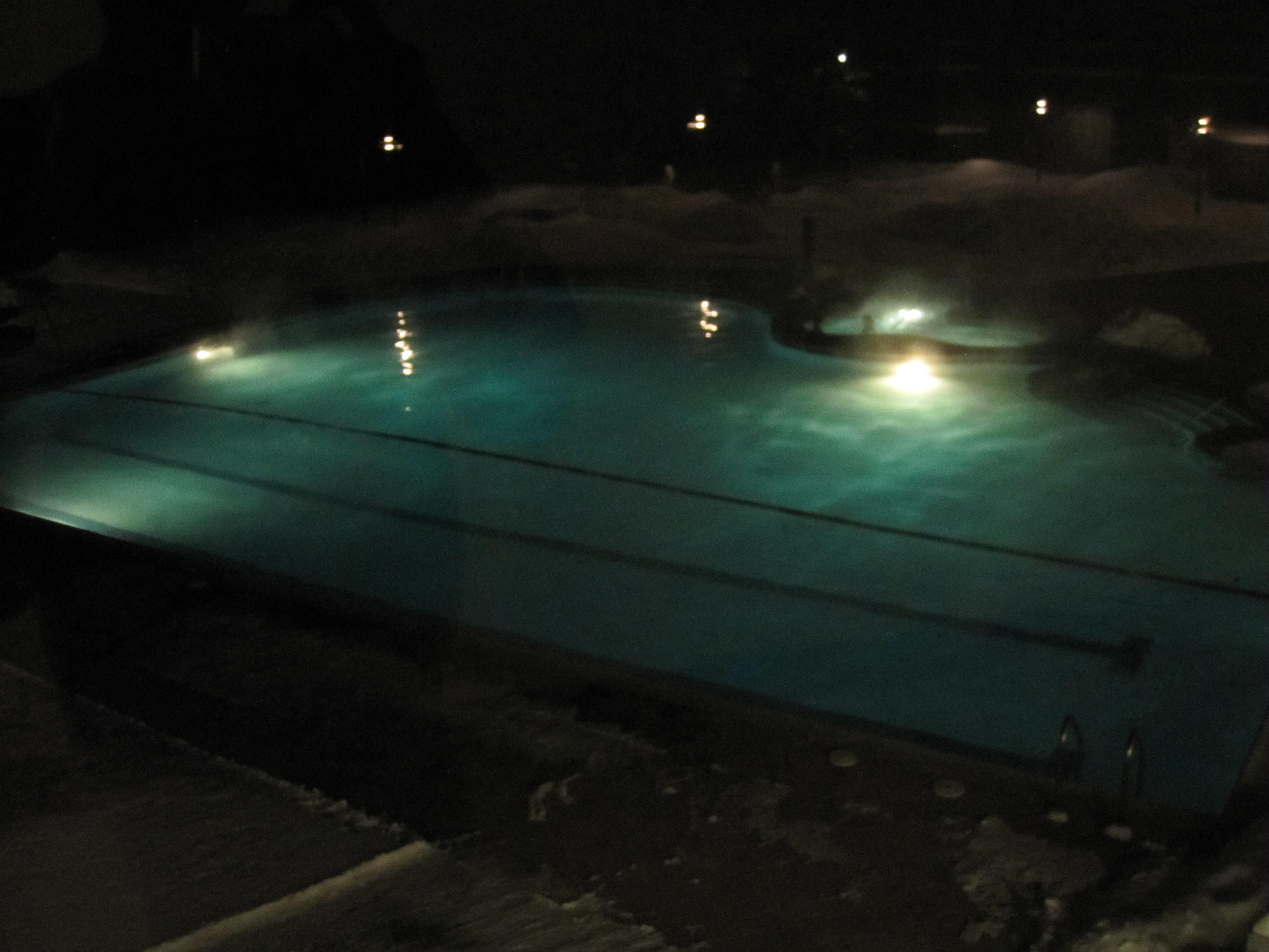 Stowe Mountain Lodge Heated Pool