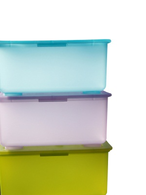 Large plastic bins