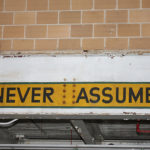 Blogging Tip# 9 – Never Assume