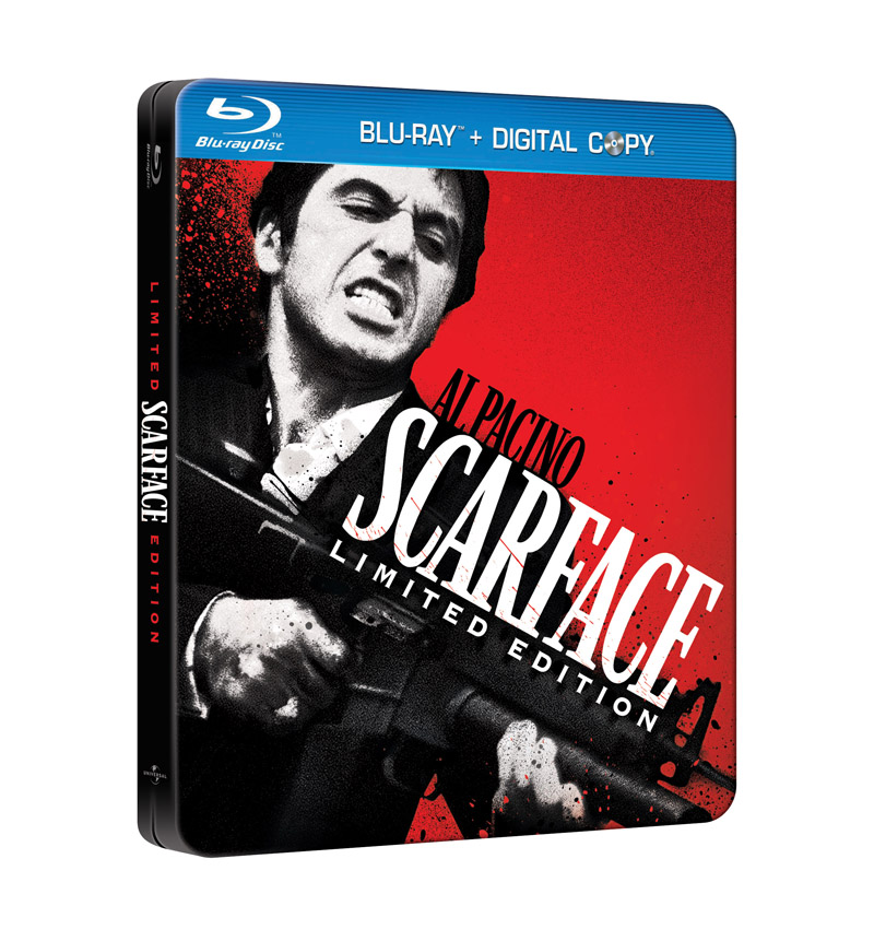 Al Pacino Scarface Blu Ray DVD