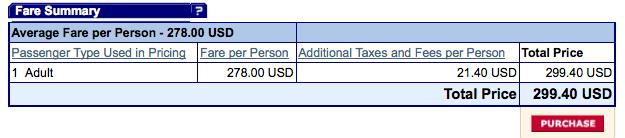 American Airlines SXSW price