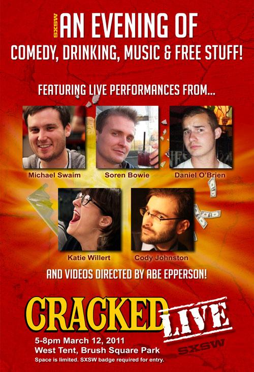 cracked live sxsw 2011
