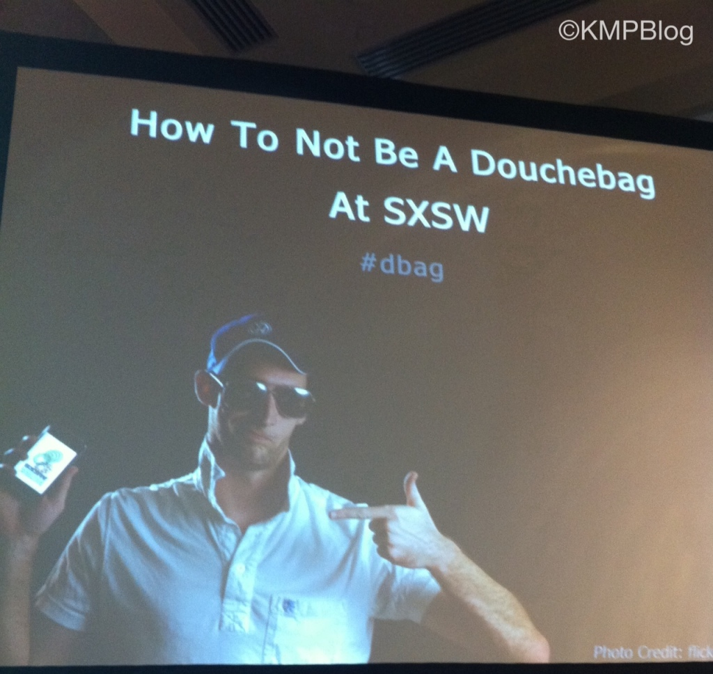how not to be a douchebag