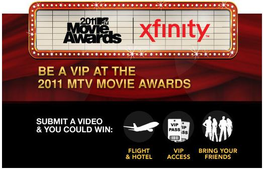 Enter the MTV movie Awards
