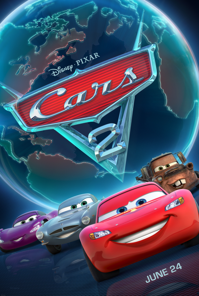 cars 2 in theaters june 24