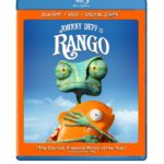 Johnny Depp Is Rango: on Blu-ray DVD July 15, 2011