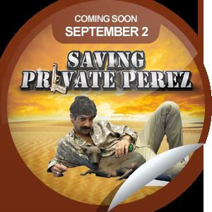 Saving Private Perez GetGlue sticker