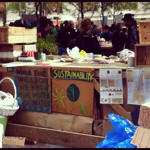 Sustainability Occupy wall street