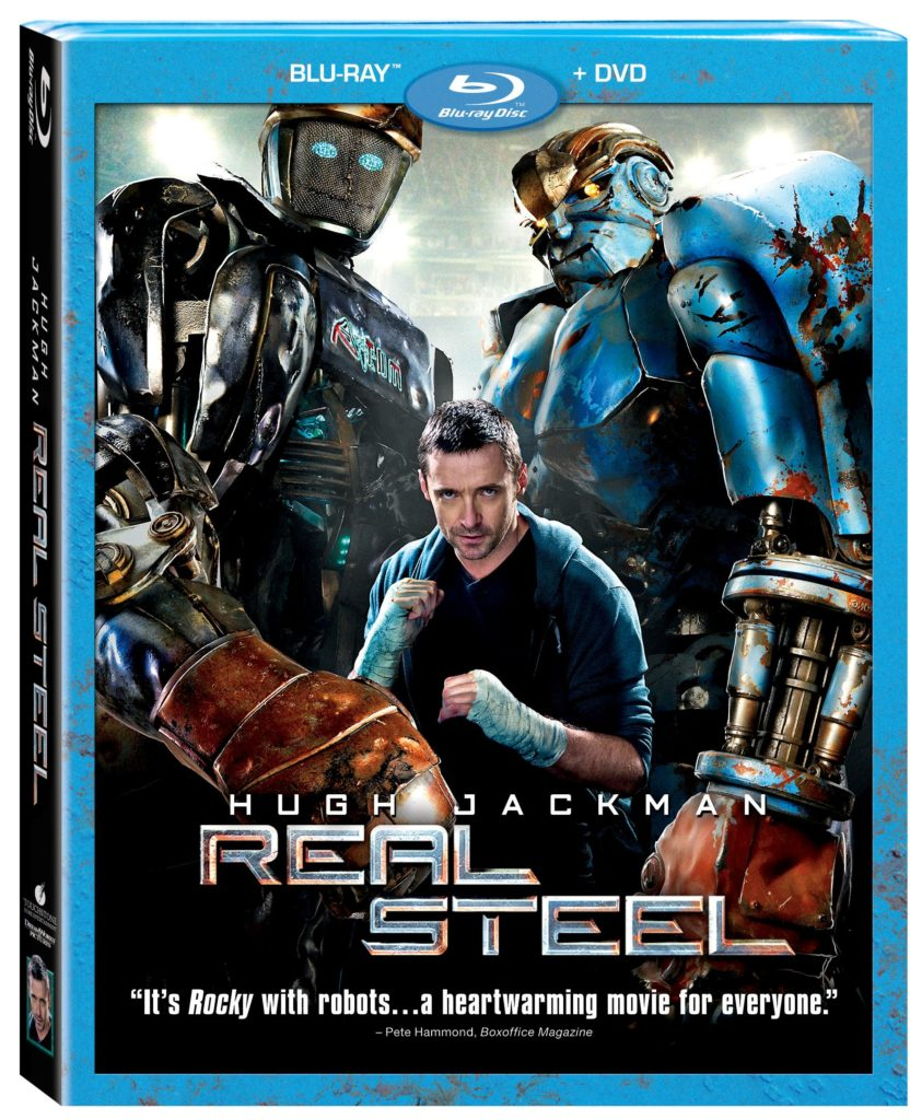 Real Steel Blu-ray DVD