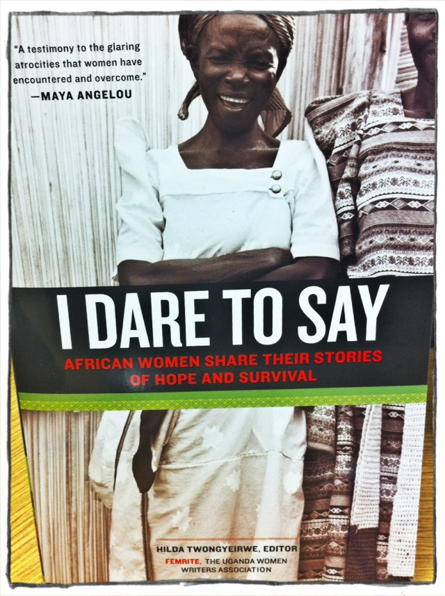 I Dare to Say Book