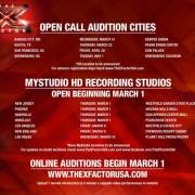 Do You Have The X Factor?! Open Call Auditions