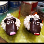 The Sheep cupcake