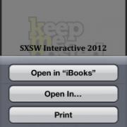 SXSW Interactive 2012 – Hashtags