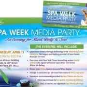 Spa Week Media Event Recap – Spring 2012