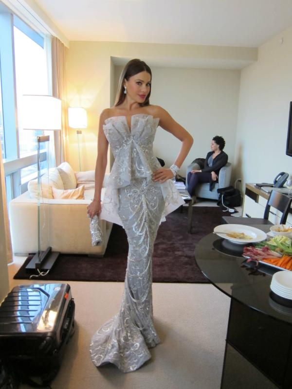 sofia vergara marchesa dress
