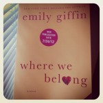 Book Giveaway: Where We Belong by Emily Giffin