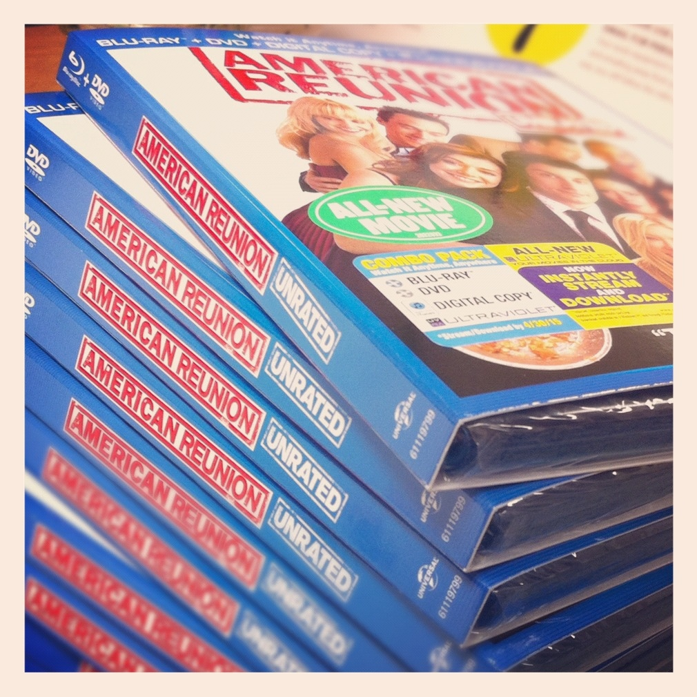 American Reunion Bluray DVD