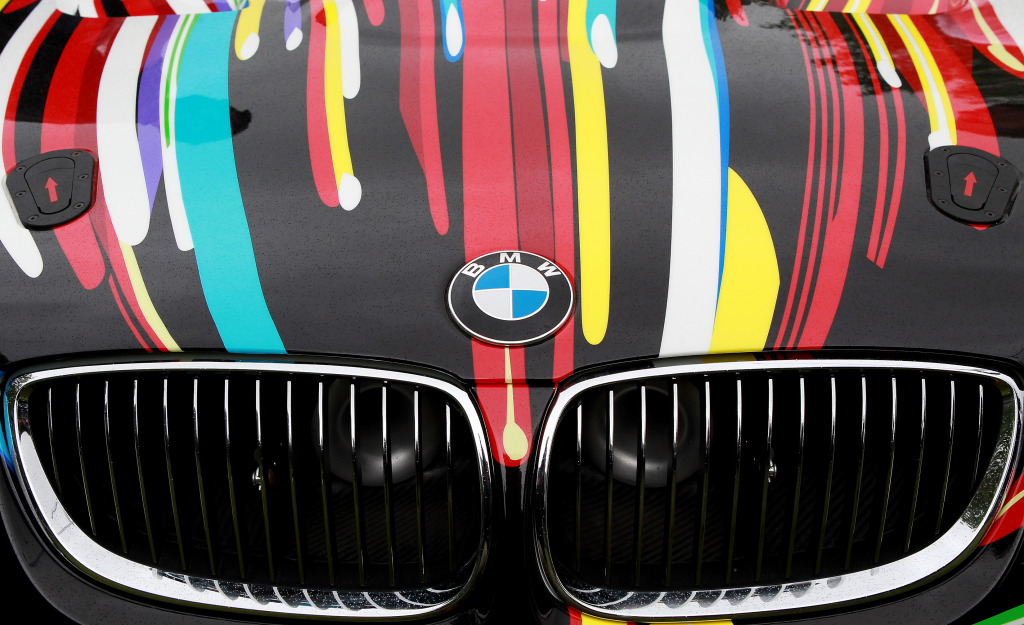 BMW Art Car - London Art Drive