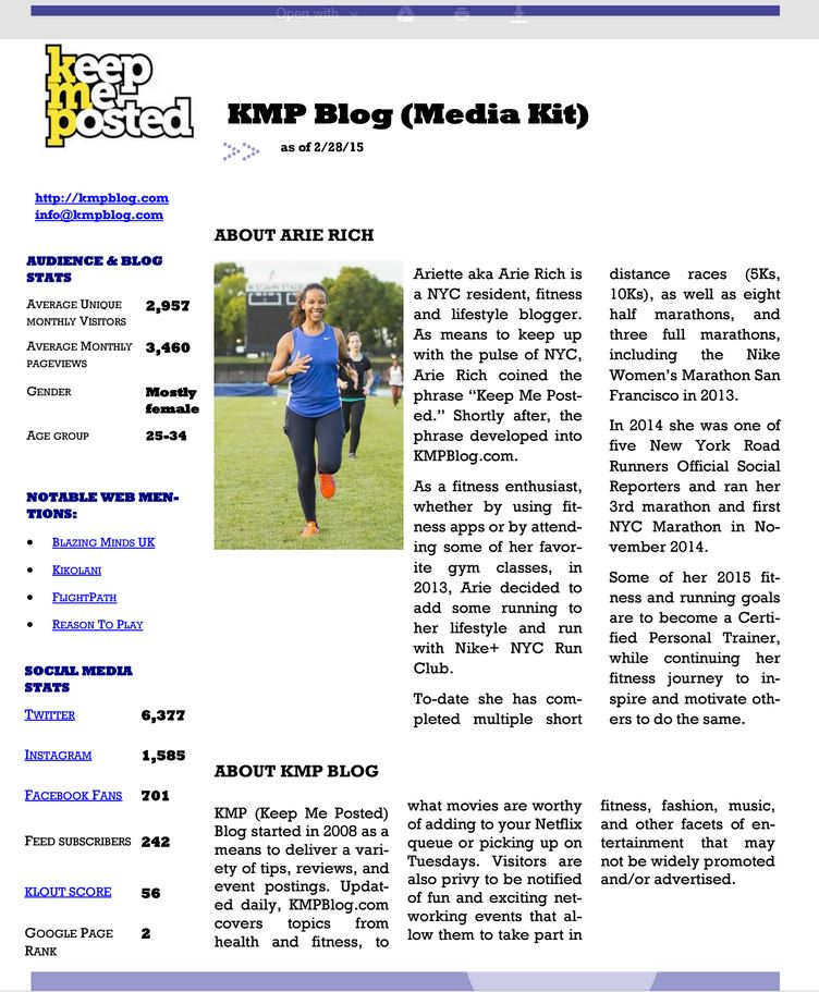 KMP Blog Media Kit
