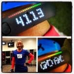 Nike Fuelband/Giants Stadium