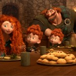 MERIDA amongst the triplets: