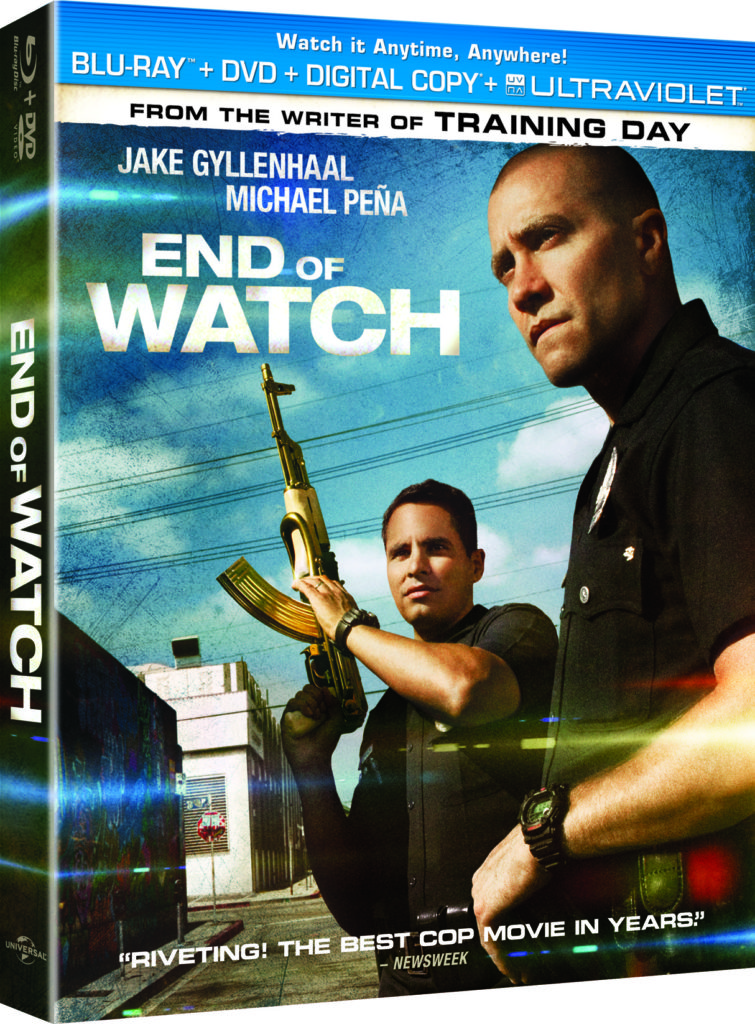 End of Watch Bluray DVD