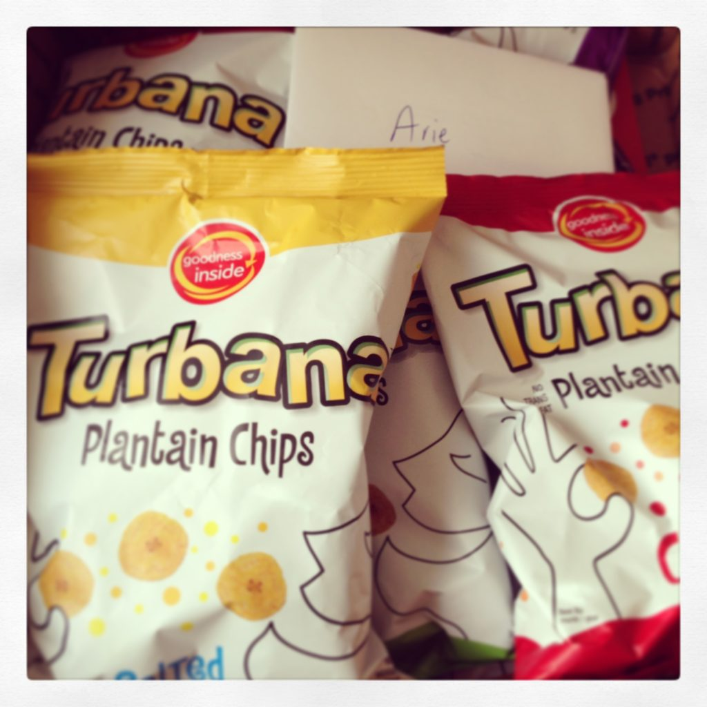 Turbana plantain chips
