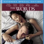 the words blu ray dvd cover