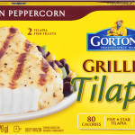 Lemon Peppercorn Grilled Tilapia