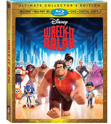 Wreck-It Ralph Blu-ray Giveaway - Sponsored by Film-Book