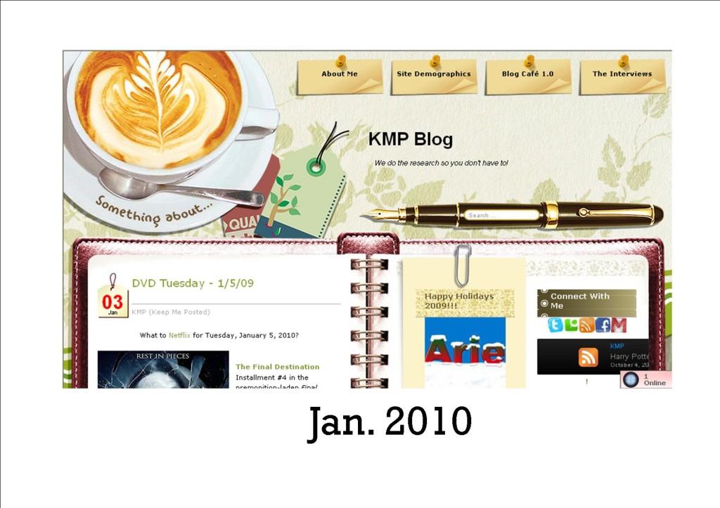 KMP Blog 2010