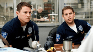 21 Jump Street - Jonah Hill and Channing Tatum