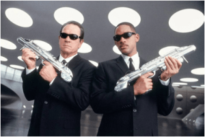 Men In Black - Tommy Lee Jones and Will Smith