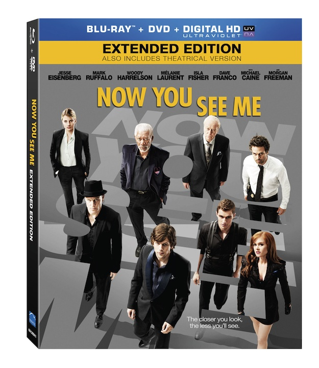 Now You See Me Bluray cover
