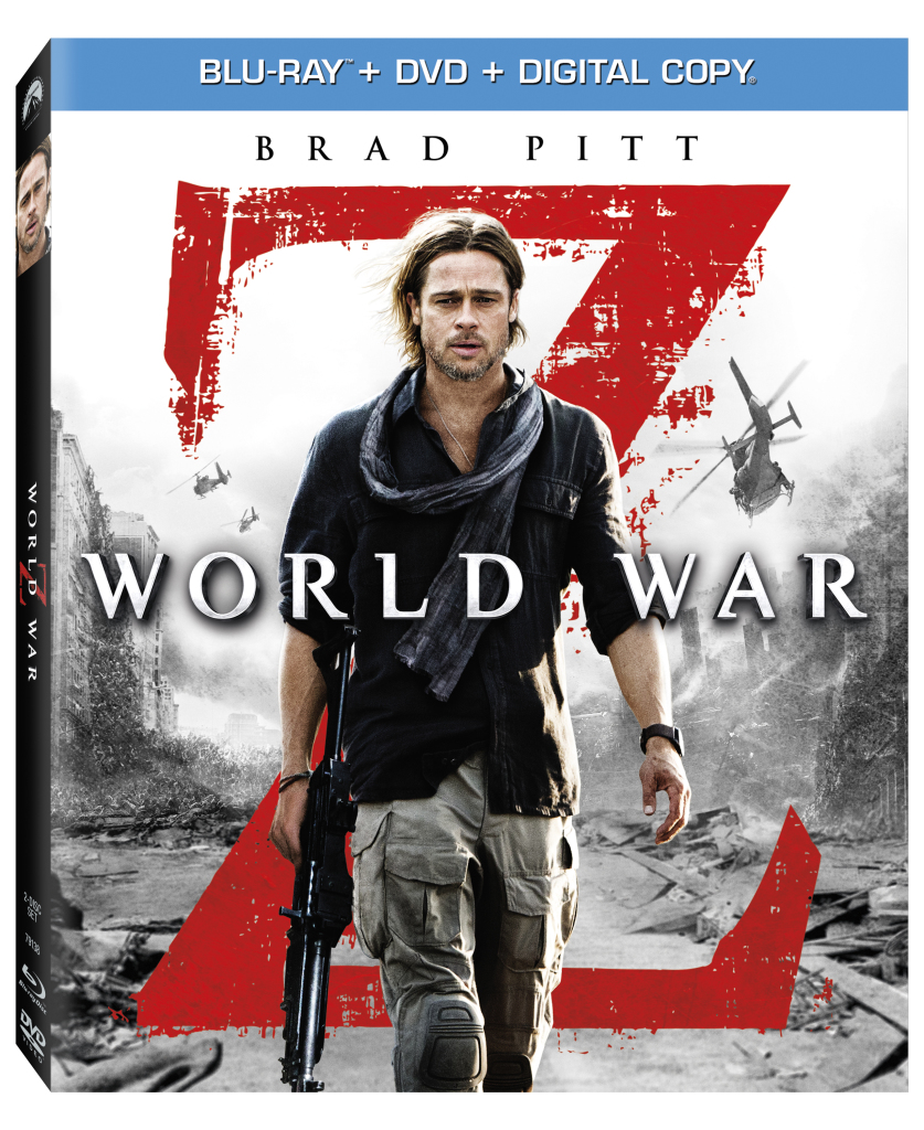 World War Z Blu-ray