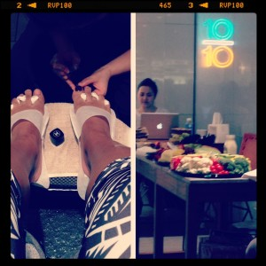 TenOverTen Pedicure